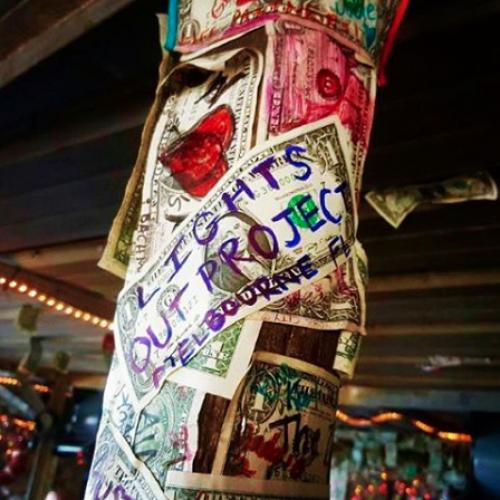 LOP dollar bill